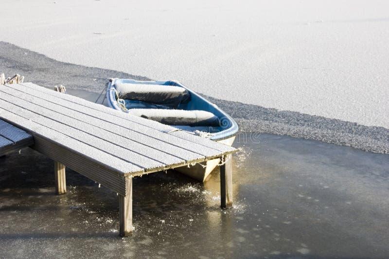 Download Barca gelida immagine stock. Immagine di paesaggio, bacino - 3890903