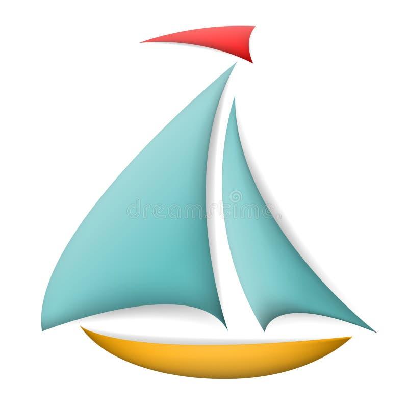 Barca isolata
