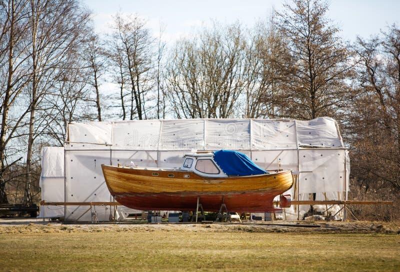 Barca norvegese fotografia stock