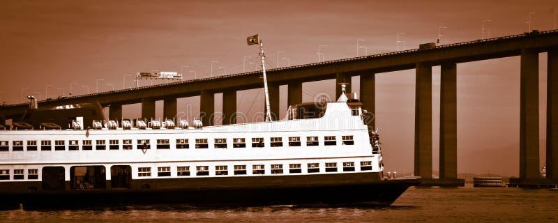 Download Barca Rio-Niteroi Ferry Boat On Baia De Guanabara Stock Photo - Image: 29436010