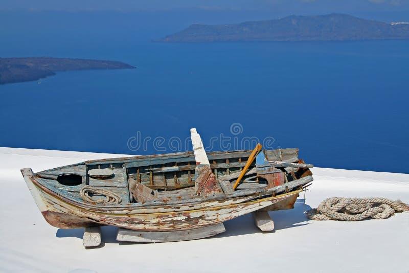 Barca rotta immagini stock libere da diritti