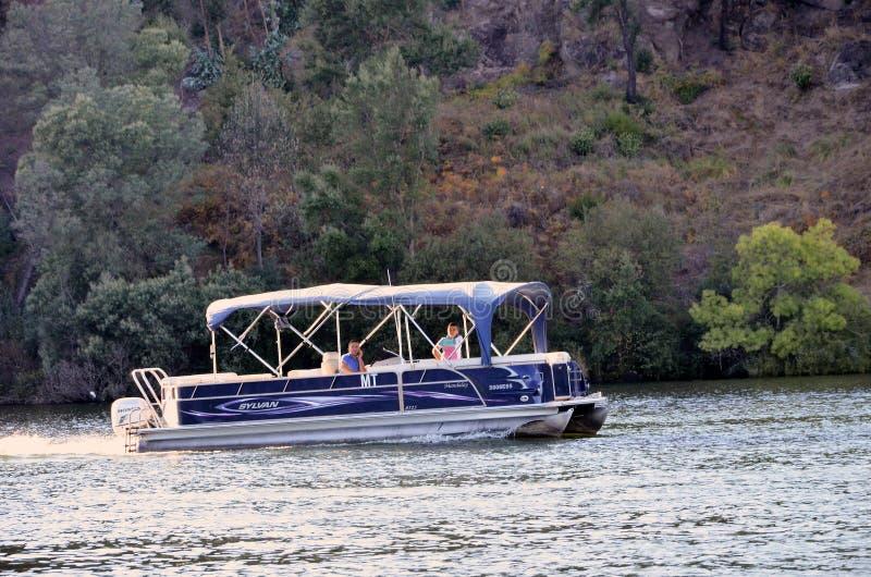 Barca turistica fotografie stock