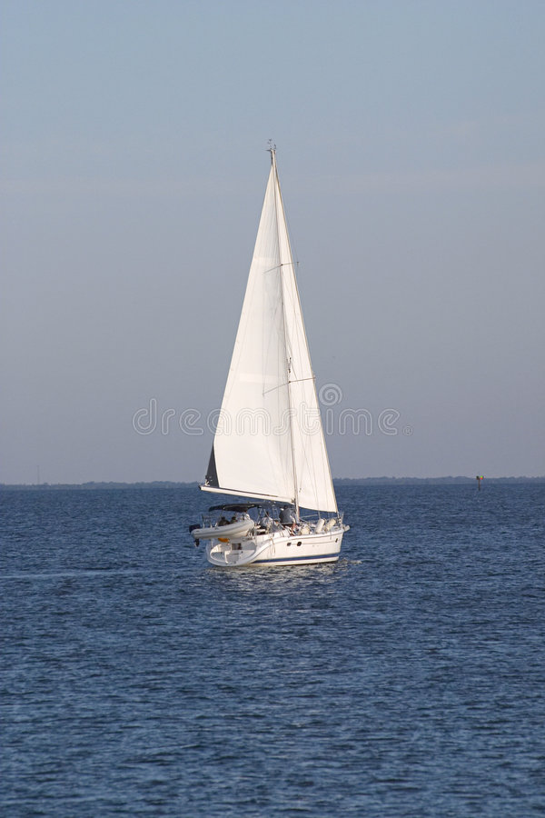 Barca a vela 1 fotografie stock libere da diritti