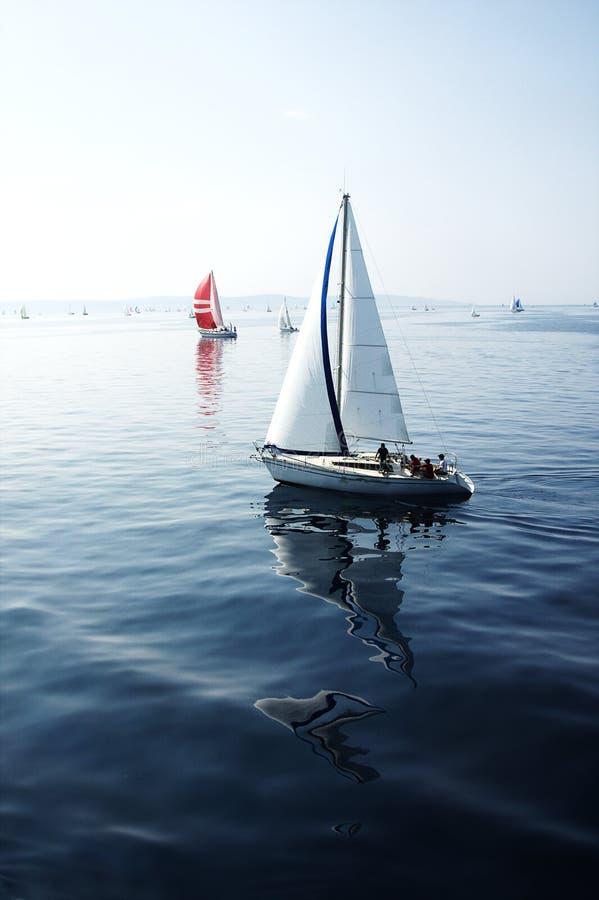 Barca a vela fotografie stock libere da diritti