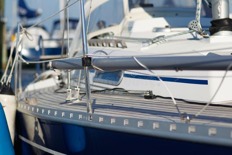 Barca a vela brillante immagine stock
