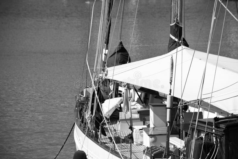 Barca a vela classica immagini stock libere da diritti