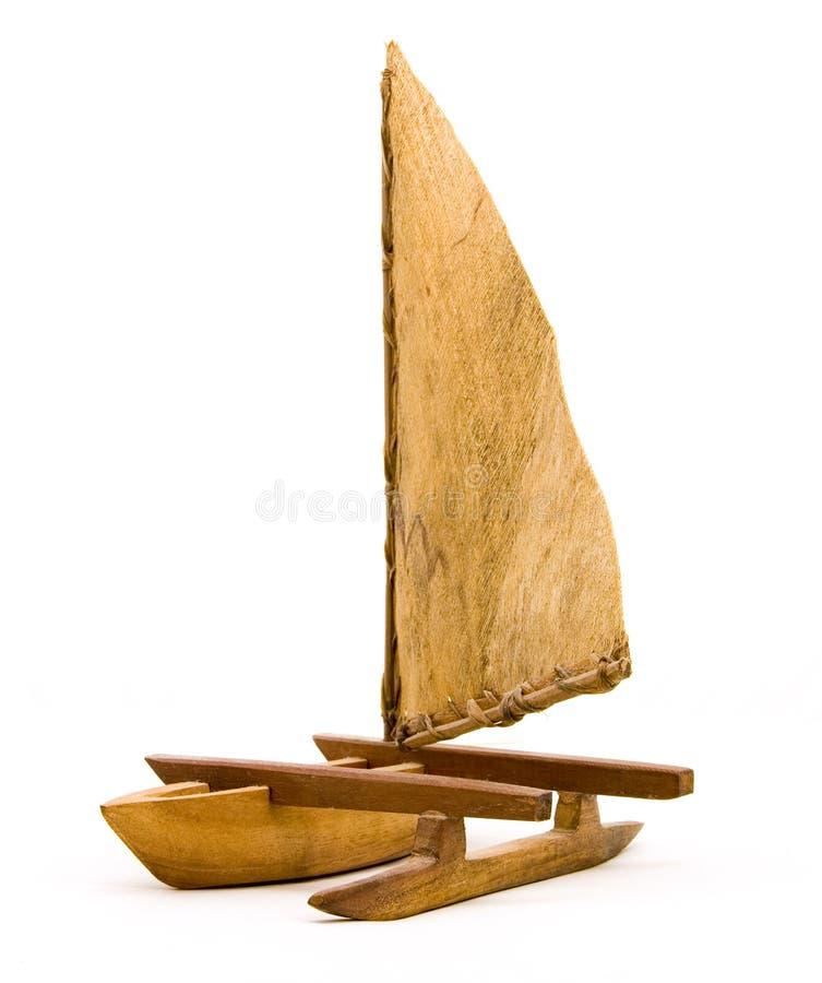 Barca a vela culturale fotografie stock libere da diritti