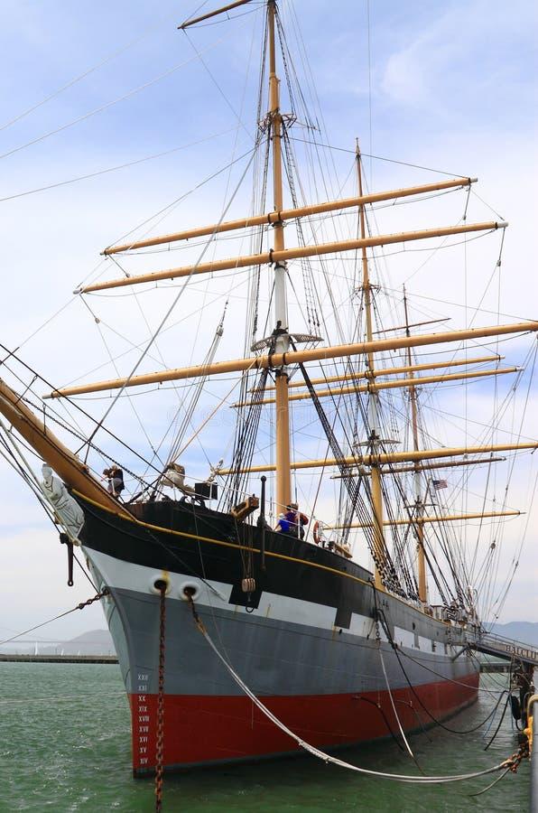 Barca a vela d'annata immagine stock