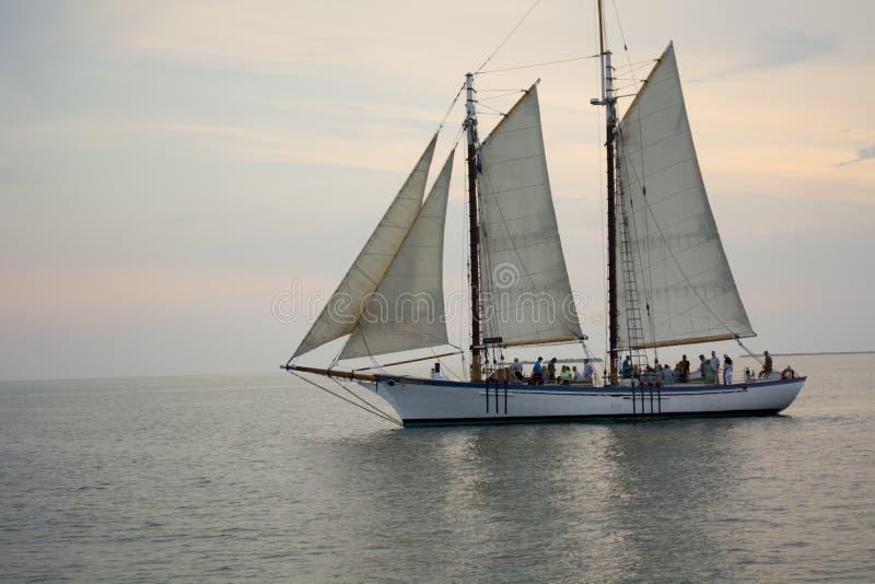Barca a vela di Key West fotografia stock