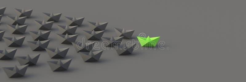 Barca verde del capo fotografia stock libera da diritti