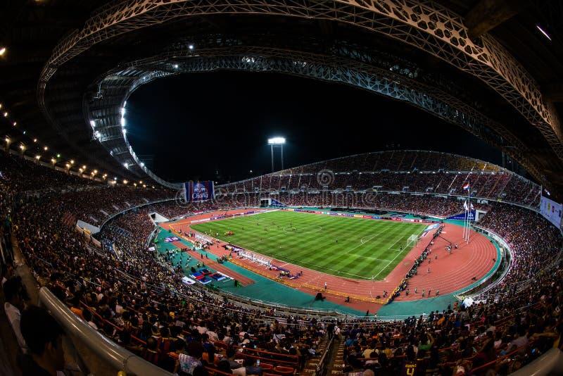 Barca VS Tajlandia zdjęcie royalty free