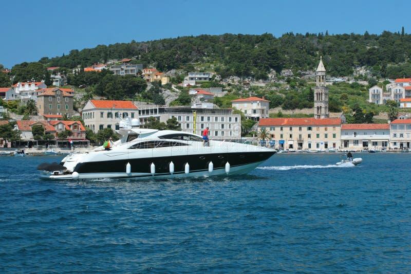 Barca/yacht immagine stock libera da diritti
