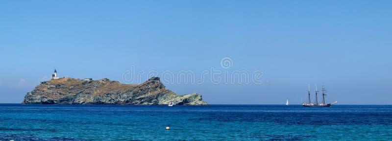 Barcaggio royalty free stock photo