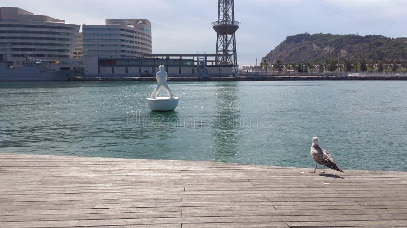 Barcellona Porto bellissimo zdjęcie stock