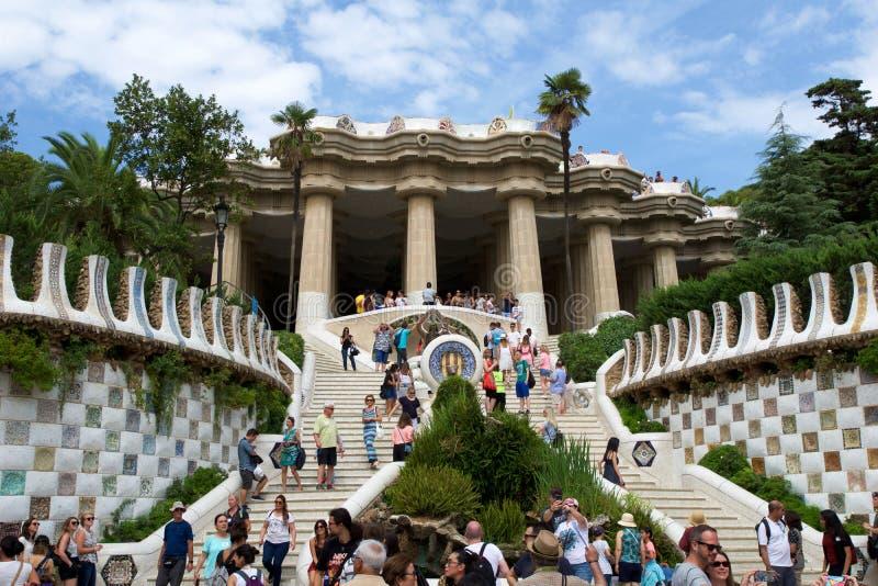 Barcellona spagna 30 agosto 2017 l 39 entrata al parco for Agosto a barcellona