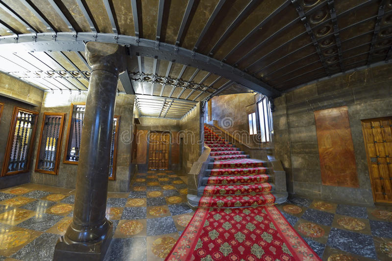 Barcellona spagna 28 aprile interno del palazzo di for Interno 28