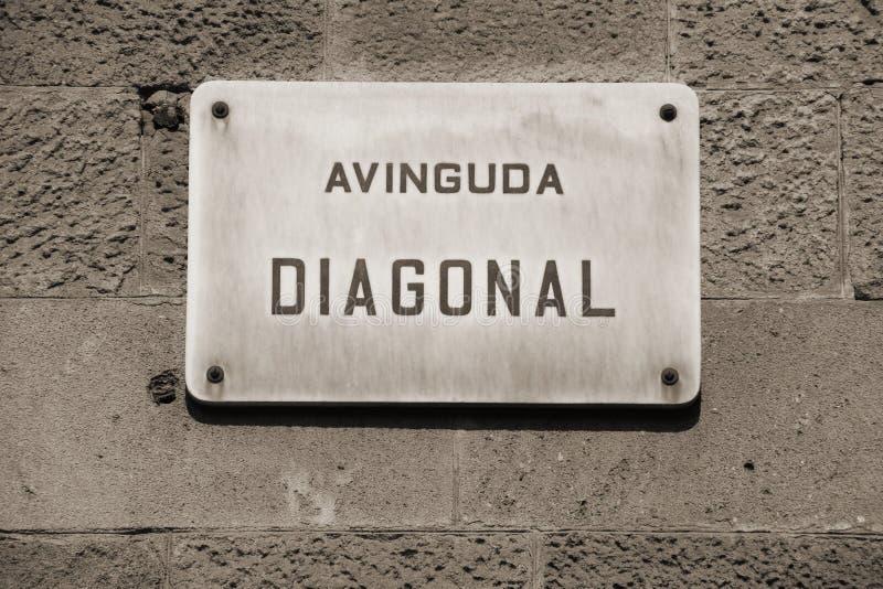 Download Barcelona stock image. Image of avinguda, detail, streetsign - 13939601