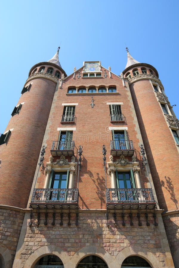 Download Barcelona stock photo. Image of puig, casa, punxes, spain - 24188874