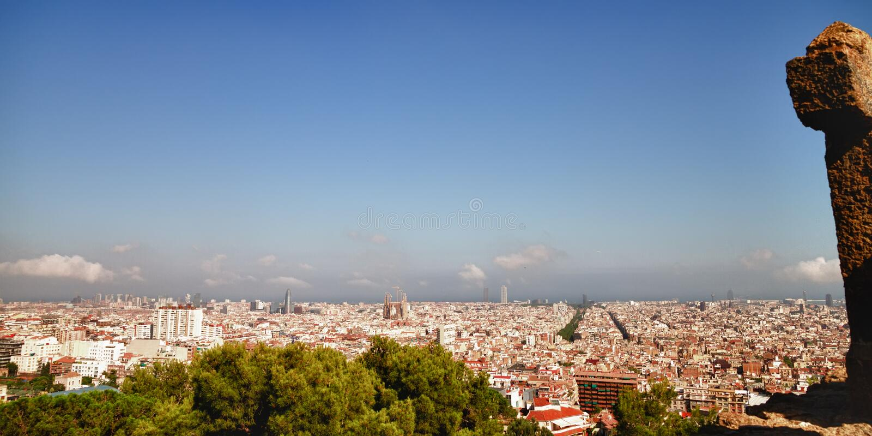 Download Barcelona stock image. Image of cityscape, barcelona - 24710549