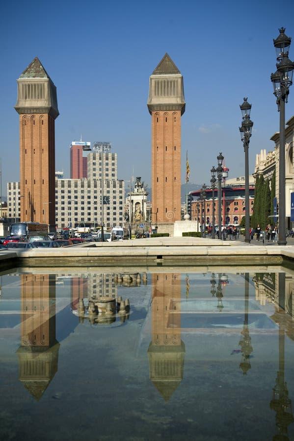 Barcelona fotografering för bildbyråer