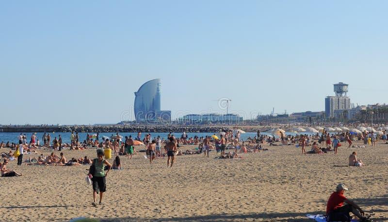 Barcelona stock afbeelding