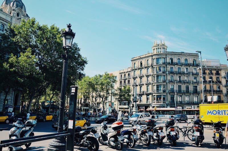 Barcelona stockfotografie