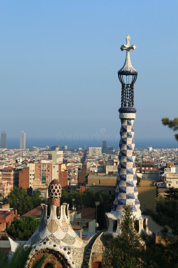 Barcelona-Ansicht stockbild