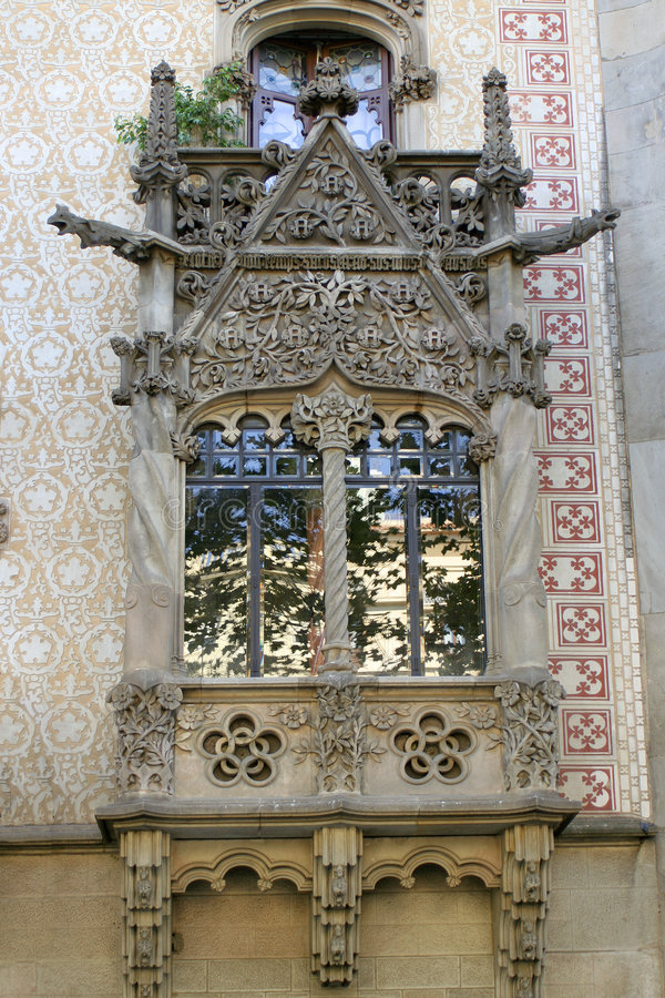 Barcelona-Architektur stockfotografie