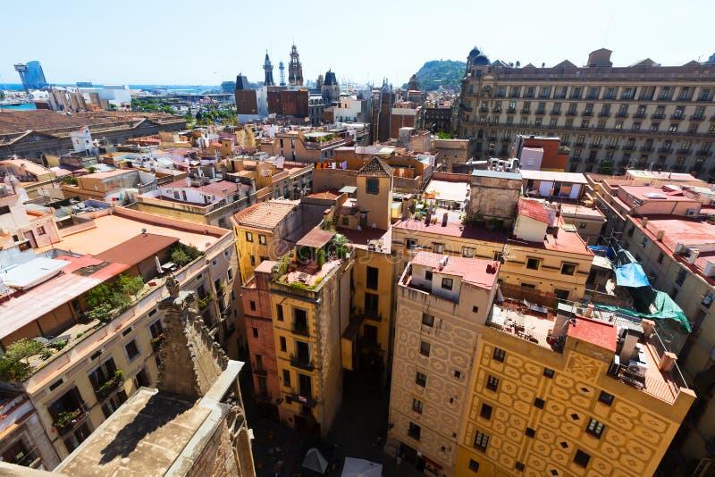 Barcelona - barrio hispano Gotico de Santa Maria Del Mar fotografía de archivo libre de regalías
