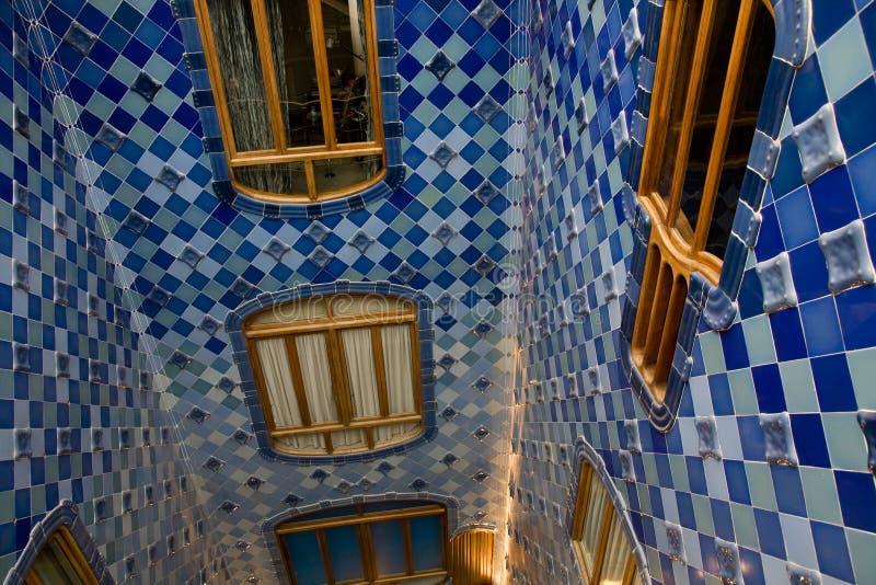 barcelona batllo casa zdjęcia stock