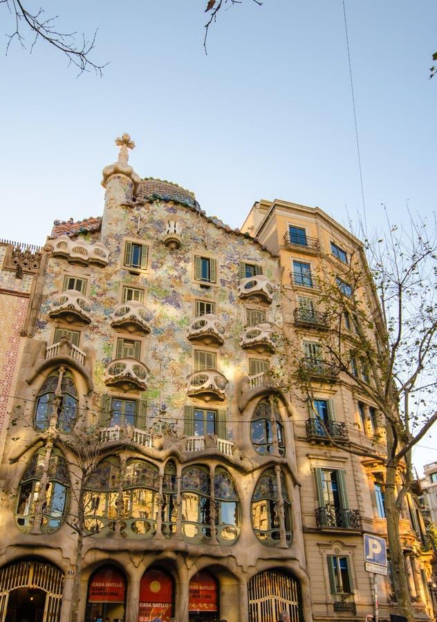 barcelona batllo casa obraz royalty free