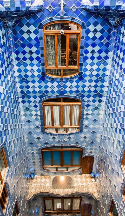 barcelona batlo casa Spain obrazy stock