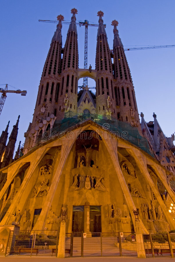 Barcelona Battlo lizenzfreies stockfoto