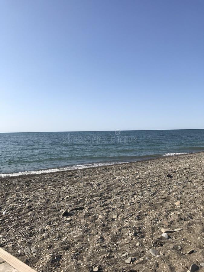 Barcelona beach royalty free stock photo