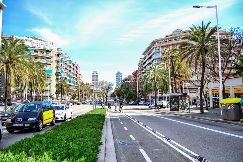 barcelona budynku miasta gaudi park Spain fotografia royalty free