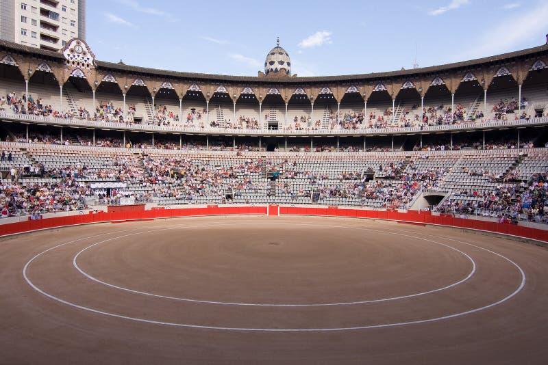 Barcelona Bullfighting Stadium stock image