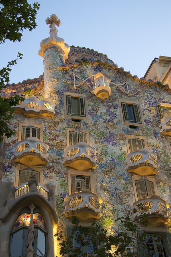 Barcelona - Casa Batllo - Spain stock photos