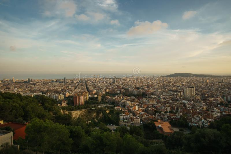 Barcelona, Catalonia, Spain imagens de stock