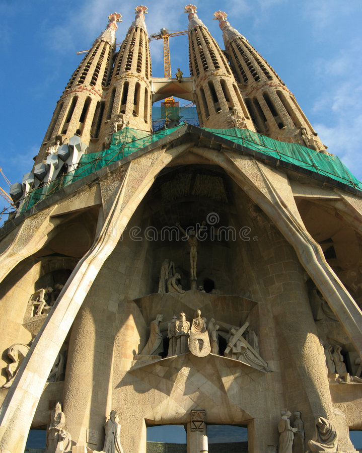 Download Barcelona Cathedral Royalty Free Stock Photos - Image: 7620318