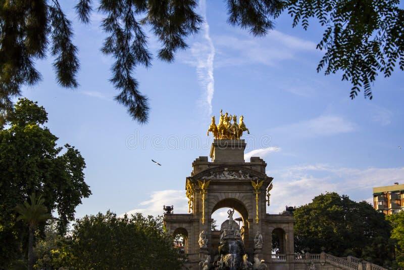 Barcelona Citadel Park royalty free stock images
