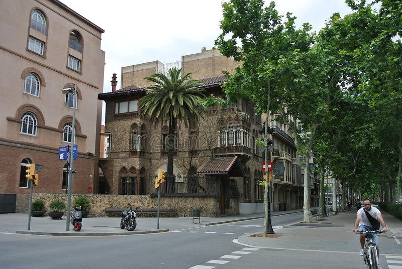 Barcelona. City view. stock image