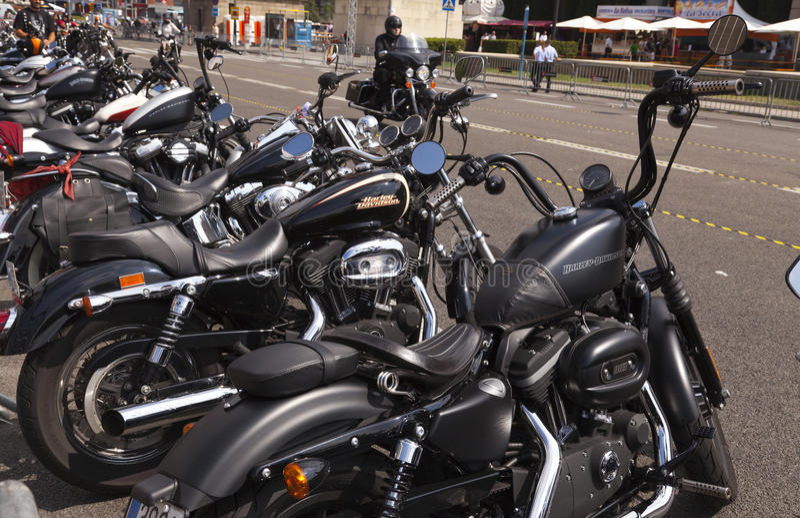 barcelona dagharley 2012 royaltyfri bild