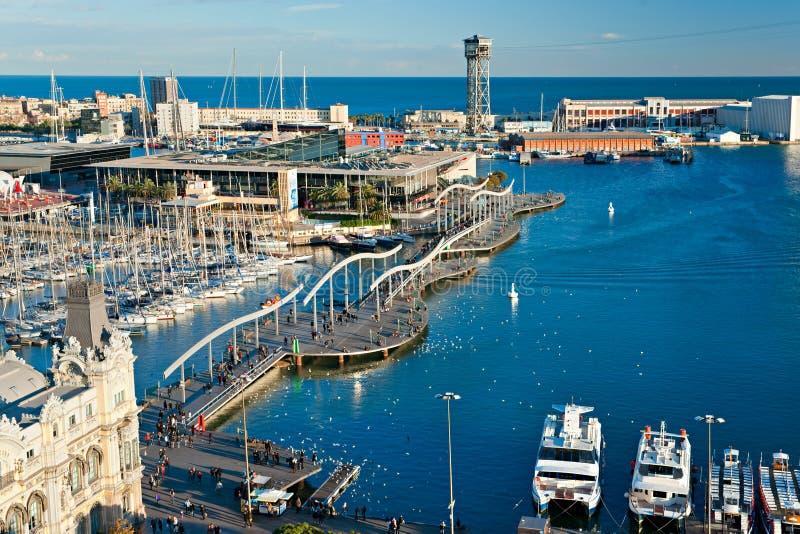 barcelona del Mar Rambla Spain obraz stock