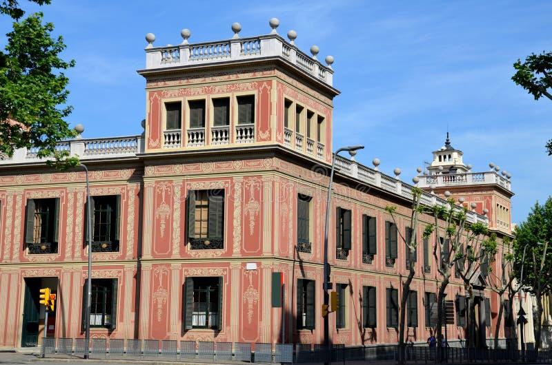 Barcelona, Espanha, mola: arquitetura urbana no centro de cidade imagem de stock