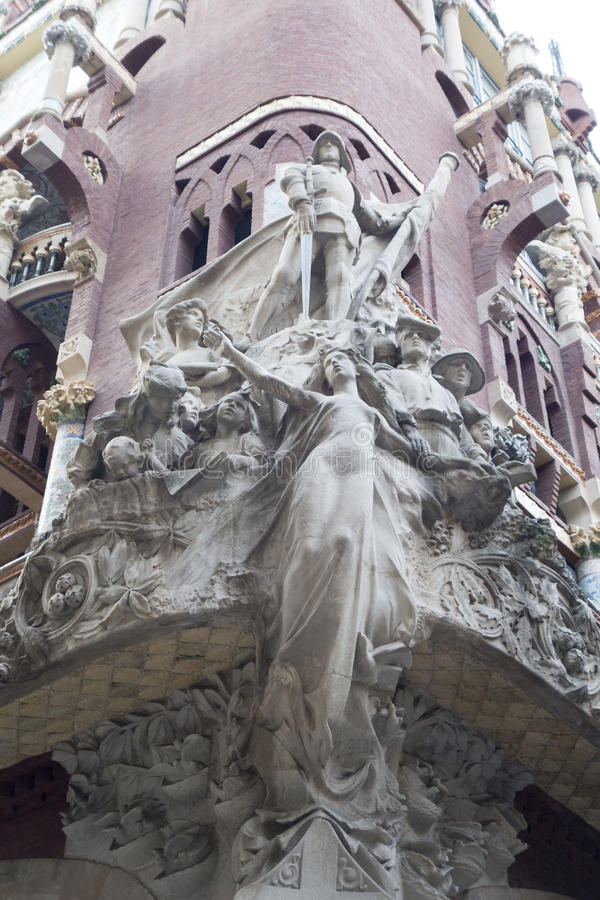 Barcelona Exterior royalty free stock photos