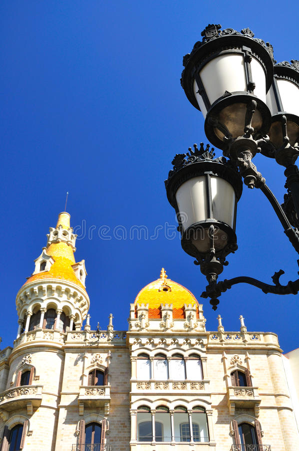 Barcelona fragment. royalty free stock photo