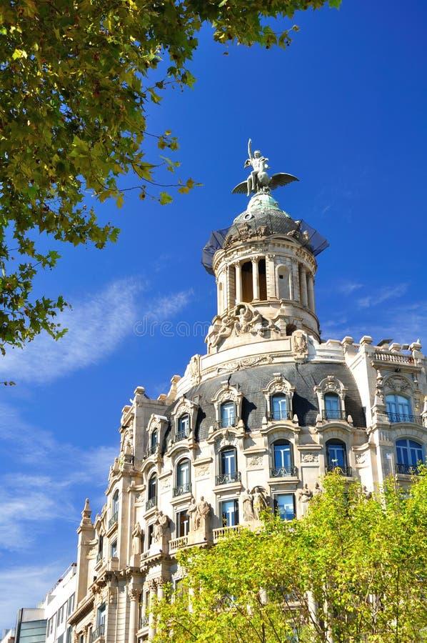 Barcelona fragment. royalty free stock photography