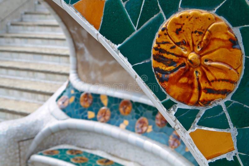 Download Barcelona guell park obraz stock. Obraz złożonej z park - 13331693