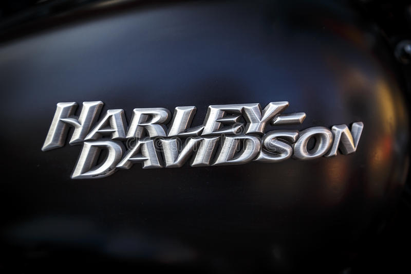 BARCELONA HARLEY-DAGAR 2013 royaltyfri bild
