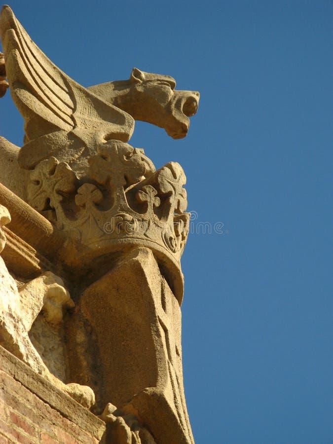 Barcelona,Hospital Sant Pau 10 stock photography